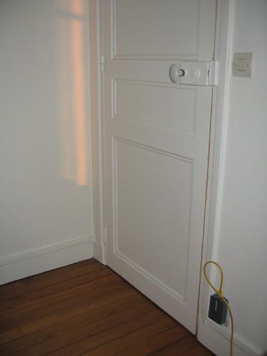 Le mystère de la porte de la chambre jaune (Leroux)