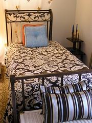 Bronze Sleigh Bed