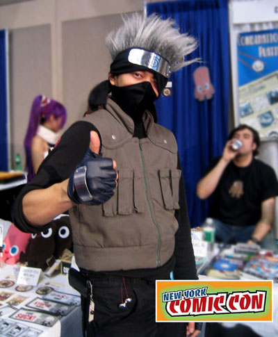 kakashi at NYC comic-con