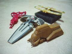 Miniatures d'StarWars montades