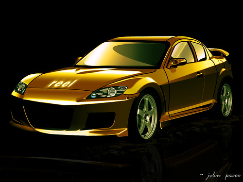 rx8 - photoshop & cars