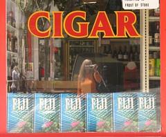 Cigar Fiji Fiji Fiji Fiji Fiji Fiji (SeenyaRita) Tags: sanfrancisco selfportrait reflection shop fiji cigar shootthephotographer frontofstore walkinghomefromthedentist notreallyfiji gwsf5party gwsflexicon