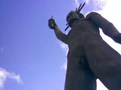 Replica del Coloso de Rodas (Wladimir Valdes) Tags: park parque colombia marvel jaime duque maravillas atraccion