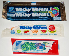 Wacky Wafers packages