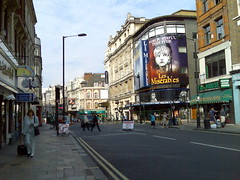 Shaftesbury Avenue, London (markhillary) Tags: west london les theater theatre end avenue w1 shaftesbury miserables theatreland