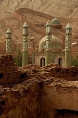 DSC_1115_tuyuguo_mosque (kdriese) Tags: china church muslim mosque uighur xinjiang silkroad turpan taklamakan turfan nikond200 may2007 kendriese tuyuguo