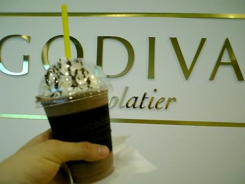 GODIVA Choco lixir ミルクチョコダカダンス