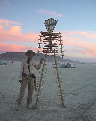 Baby Burning Man