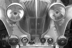 Triumph Dolomite (Mark Rutter) Tags: old classic car metal vintage shiny headlights badge triumph badges dolomite i120