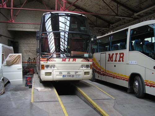 Autocar DAF de Transports MIR de Ripoll (Girona)