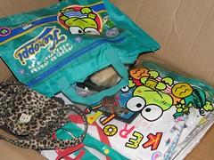 bags (Christi&Brian) Tags: hello hellokitty kitty sanrio collection badtzmaru keroppi pochacco pekkle