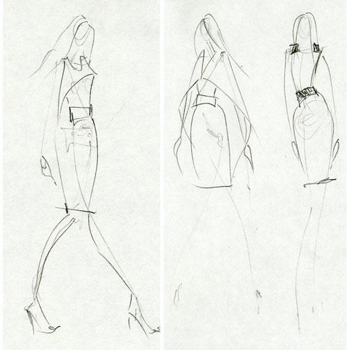 Model Drawing Draw Fashion Models · Flickr