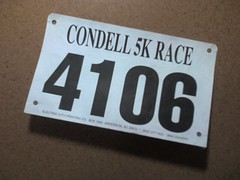 Condell 5K numbers