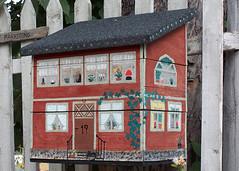 Post Box, Vaxholm (angela saxbee) Tags: vaxholm