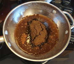 Spiced Chocolate Souffle