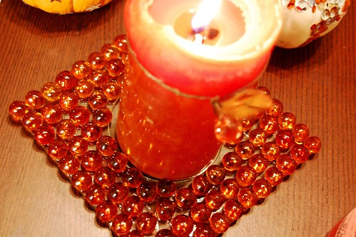 glass gem candle holder 2