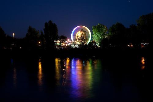 Elbe bei Nacht 1