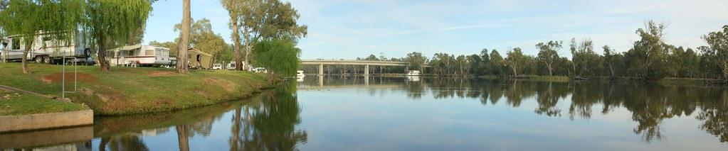 Riverfront Caravan Park, Robinvale, Vic by ibsut, on Flickr