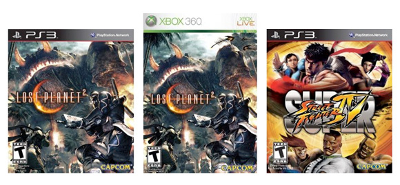Capcom 10.25.10 video game sale
