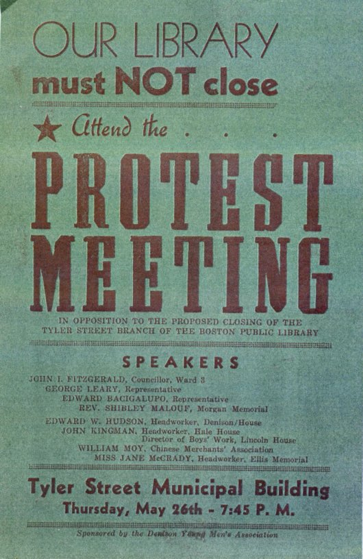 Protest Meeting