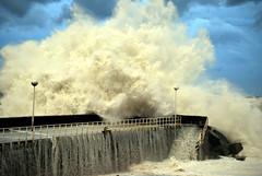 [フリー画像] 社会・環境, 災害, 波, スペイン, 201011121900