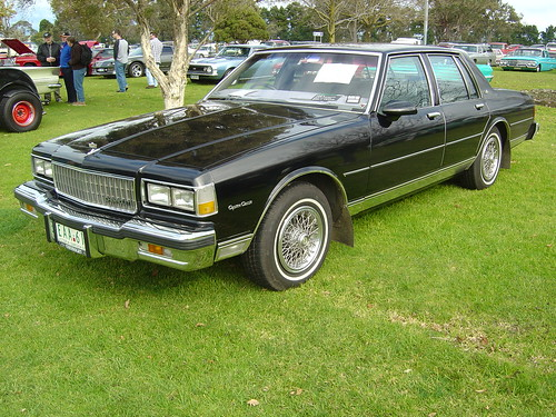 1986 Chevrolet Caprice Classic - a photo on Flickriver
