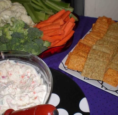 dip n veggies