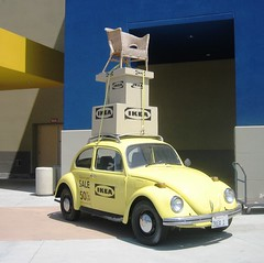 VW Beetle @ IKEA por MR38