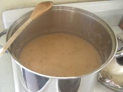 Cauliflower, Bean & Bacon Soup