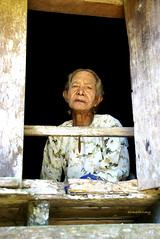 lonely granny (hilmy2007) Tags: old sad poor granny potrait sorrow nenek selama wargaemas
