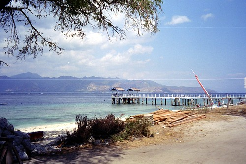 Harbour at Gili Trawangan