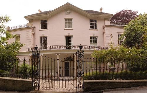 Dru Marland fought her way through to identify Marlborough House at Falmouth