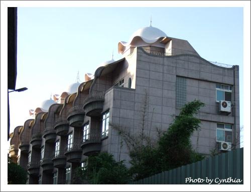 甜點式屋頂