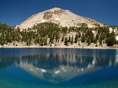 Lassen Volcanic National Park (StevenLPierce) Tags: california park mountains reflection volcano parks national nationalparks reflexions lassen refection lassenvolcanicnationalpark lassenpeak