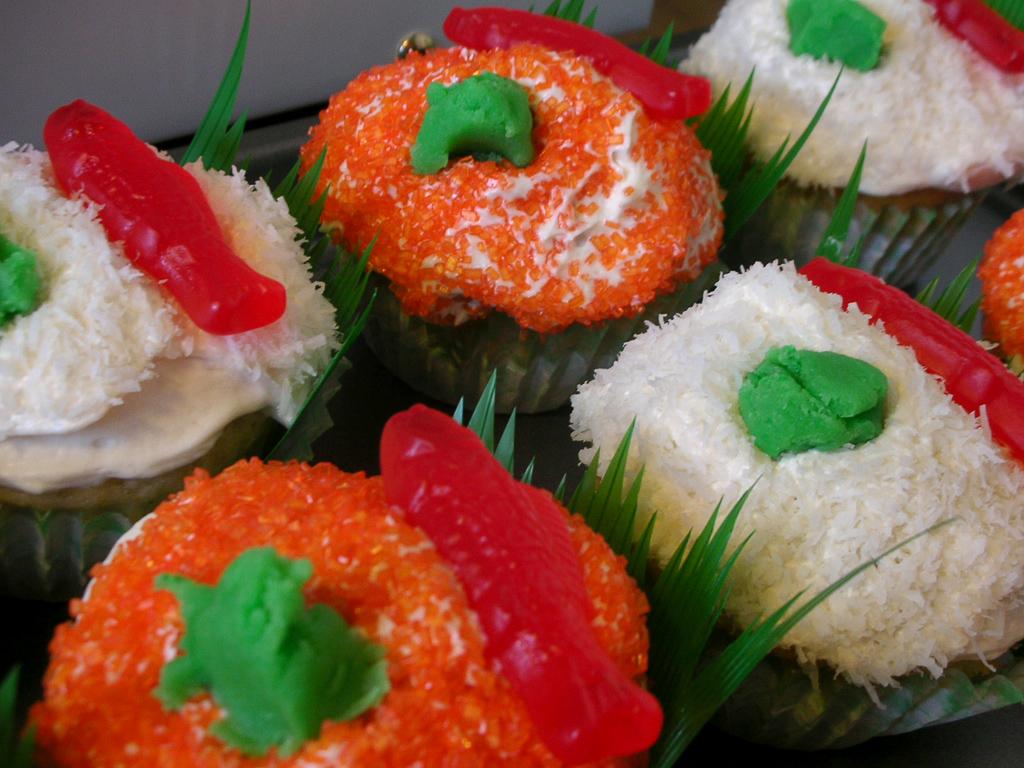 "Vegan ""Sushi"" cupkcakes"