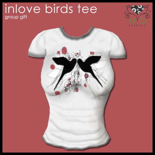 [MG fashion] Inlove Birds tee - group gift