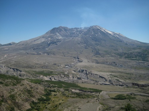 North face of Mt St Helens