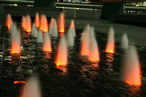 Fire/Water Cone Lights