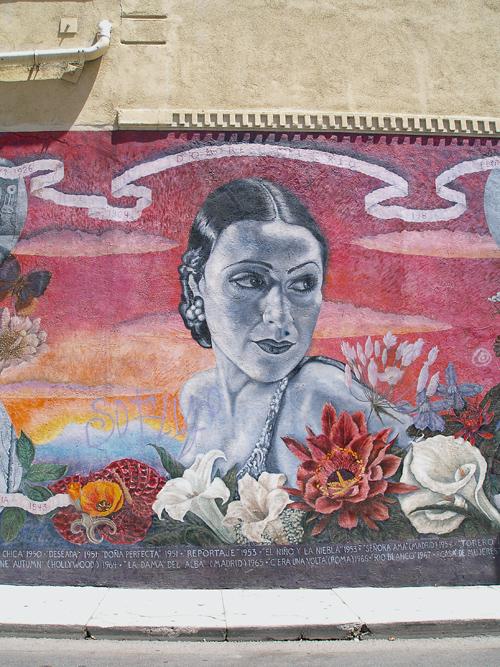 Dolores del Río Mural