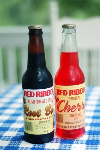 Old fashioned sodas.