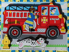 Happy Fire Engine