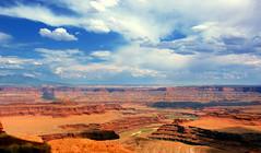 Dead Horse Point Vista (acheron0) Tags: park travel red vacation rock landscape utah desert state deadhorsepoint moab noisereduction