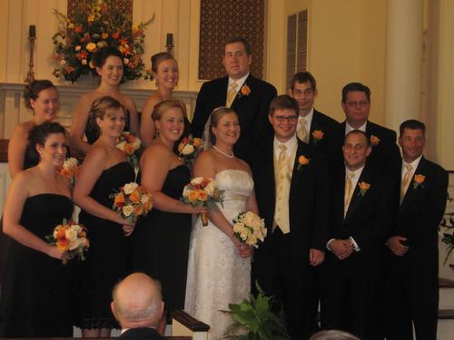 wedding party crop