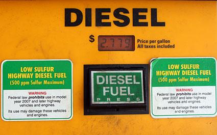 Low Sulfur Diesel