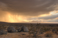 Storm Cell at Sunset (sandy.redding) Tags: california sunset storm landscape desert hdr ridgecrest photomatix explored nikkor1855mmf3556g anawesomeshot supereco challengesandcomments bestnaturetnc07