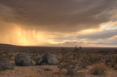 Storm Cell at Sunset (sandy.redding) Tags: california sunset storm landscape desert hdr ridgecrest photomatix explored nikkor1855mmf3556g anawesomeshot supereco challengesandcomments bestnaturetnc07