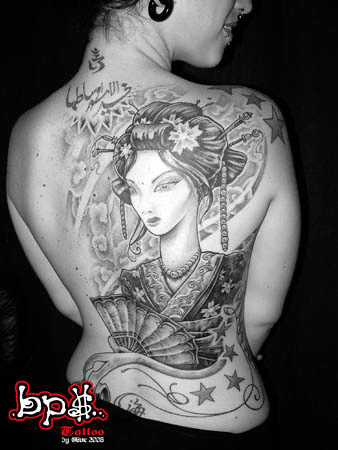 GEISHA by Olive Green - BPS tattoo