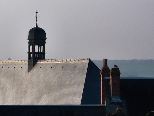 Lever de soleil sur les toits de Blois