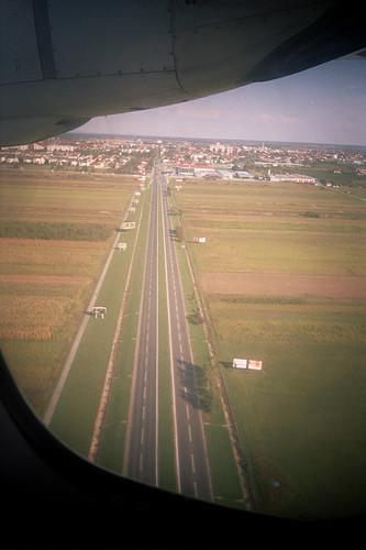Landing at Zagreb