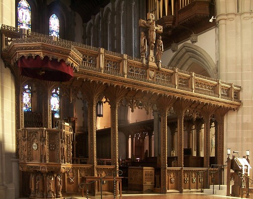 Rood Screen in Calvary Episcopal Church, Pittsburgh !!calvary rood 7.7 by shadysidelantern, on Flickr